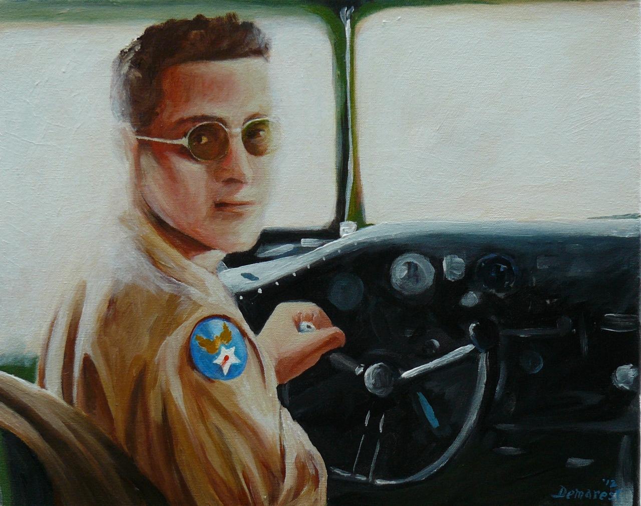 Captain Robert Demarest USAAF 1944